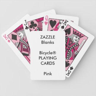Blanc fait sur commande de cartes de jeu de ROSE Jeux De Cartes