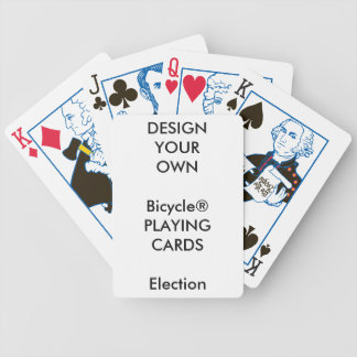 Blanc fait sur commande de cartes de jeu jeu de cartes