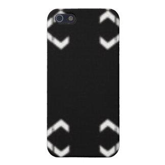 Blanc noir d'abd étuis iPhone 5