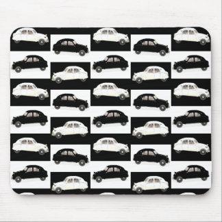 Blanc noir de Citroen 2CV Tapis De Souris