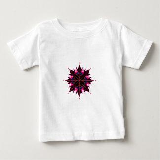 Blanc noir de l'Orient d'art de mandala T-shirt Pour Bébé