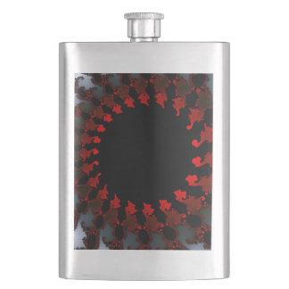 Blanc noir rouge de fractale flacons