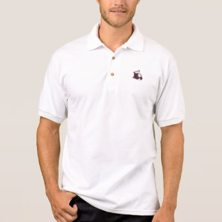 Blanc officiel de polo de HOTD Polo