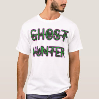Blanc paranormal 2 (de chasseur de fantôme) t-shirt