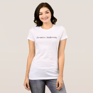 Blanc premier de T-shirt de Ballroom Slim Jersey