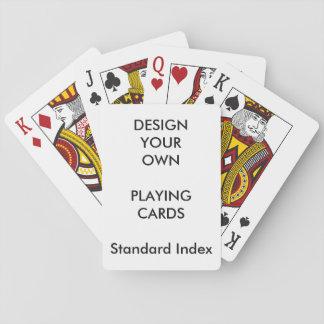 Blanc STANDARD de cartes de jeu d'INDEX Jeu De Cartes
