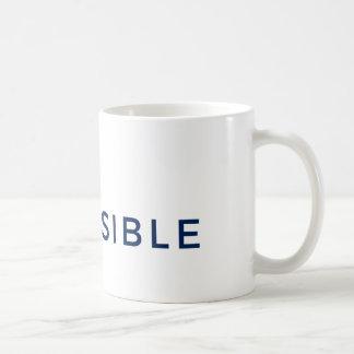 Blanc tasse de classique de 11 onces