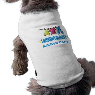 Blanchisserie drôle t-shirt pour chien