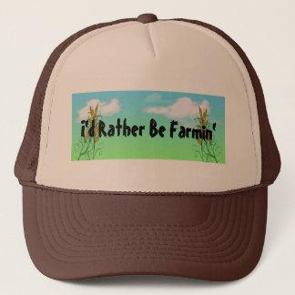 Blé cultivant des casquettes de cultures de