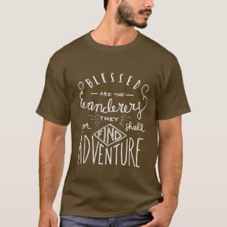 Blessed sont les hommes marqués avec des lettres t-shirt