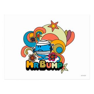 Blessure psychédélique de pouce de M. Bump | Carte Postale