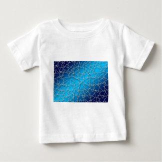 Bleu #2 abstrait t-shirt pour bébé