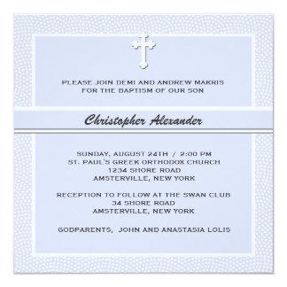 Bleu aimé - invitation religieuse