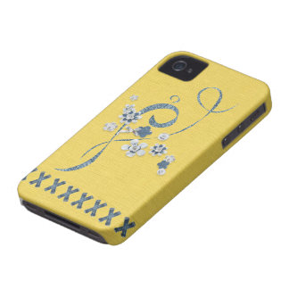 Bleu BlackBerryBold de bleuet de beurre d'impressi