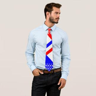 Bleu blanc rouge cravates