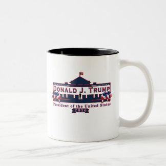 Bleu blanc rouge de Donald Trump tasse de tasse de