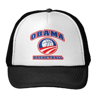 Bleu blanc rouge v3 de basket-ball d'Obama Casquette