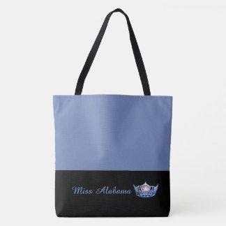Bleu bleu de Sac-Milieu de Fourre-tout de couronne Tote Bag