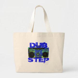 Bleu Boombox de Dubstep Grand Sac
