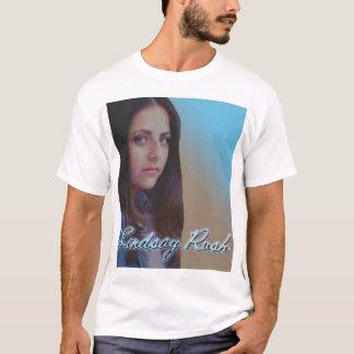 Bleu/chemise de couverture album de Brown T-shirt