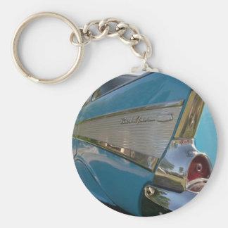 bleu Chevy 1957 Porte-clés