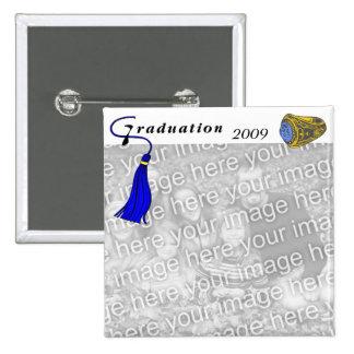 BLEU d'anneau de classe d'obtention du diplôme Pin's