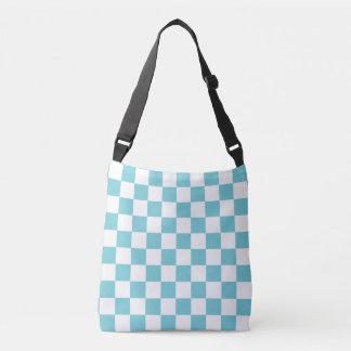 Bleu d'Aqua Checkered Sac Ajustable