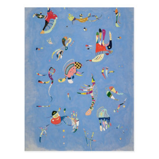Bleu de ciel carte postale