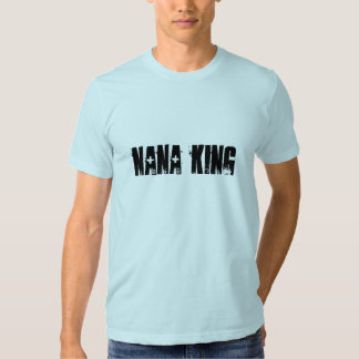 Bleu de ciel du Roi Tank 1 de Nana T-shirts