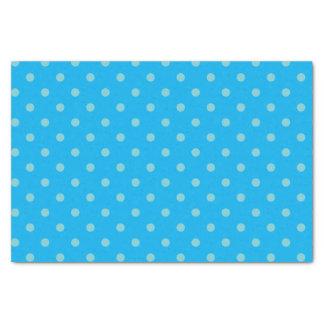 Bleu de ciel et papier de soie de soie bleu moyen