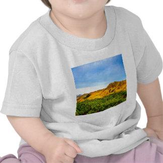 Bleu de ciel méditerranéen t-shirts