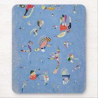 Bleu de ciel tapis de souris