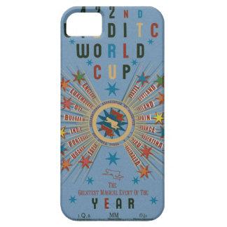 Bleu de coupe du monde de Quidditch Étuis iPhone 5