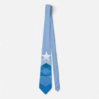 Bleu de cravate de drapeau de Peoria