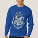 Bleu de crête de Hogwarts Sweat-shirts