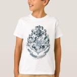 Bleu de crête de Hogwarts T-shirts