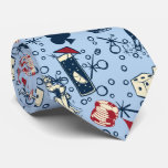 Bleu de jeu de casino de Vegas de vivats rétro Cravates Personnalisables