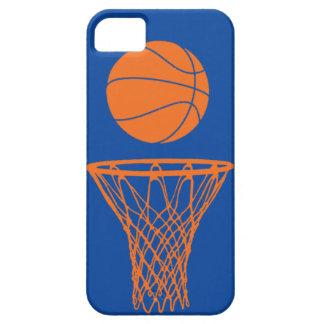 bleu de Knicks de silhouette de basket-ball de l'i