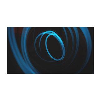 Bleu | de l'effet de la lumière | moderne toiles