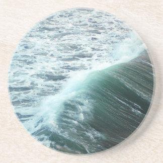 Bleu de l'océan pacifique dessous de verre