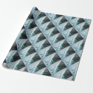 Bleu de l'océan pacifique papiers cadeaux noël