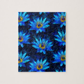 bleu de nénuphar de Van Gogh Puzzle