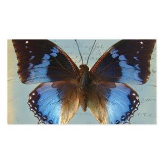 Bleu de Papillon Carte De Visite Standard