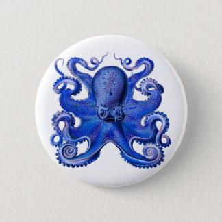 Bleu de poulpe de Haeckel Badge