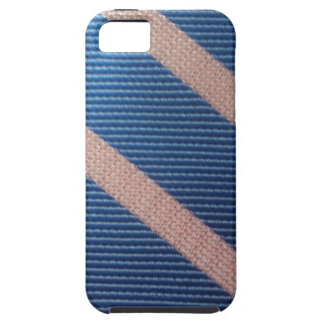 Bleu de Rayures/Personnalisable rose Coque Case-Mate iPhone 5