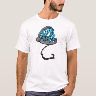 BLEU de T-shirt de piège de B3ar
