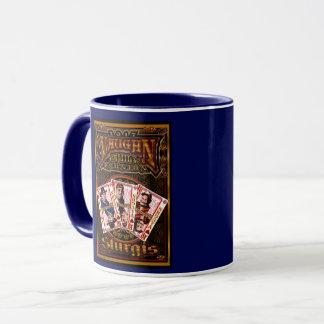 Bleu de tasse de café de la Réunion de Vaughn de