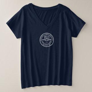Bleu d'école de pelouse de cerise plus le T-shirt
