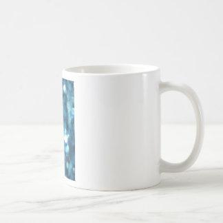 bleu d'étincelle tasse à café