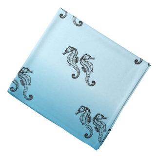 Bleu d'hippocampe bandana